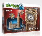 big ben 3d puslespil - 890 brikker - wrebbit - Brætspil