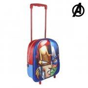 3d the avengers skoletaske med hjul  - Skole