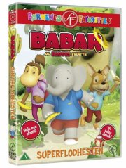 Image of   Babar Og Badous Eventyr - Superflodhesten - DVD - Film