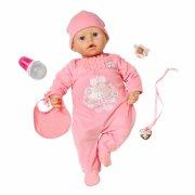 baby annabell dukke - interaktiv baby dukke - 46cm - Dukker