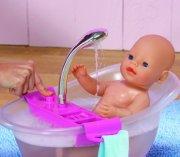 baby born badekar - interaktiv med skum - Dukker