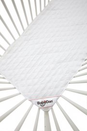 babydan rullemadras / topmadras til tremmeseng - 60 x 120 cm - Babyudstyr