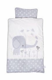 baby dan - baby sengesæt elefantastic grå - Babyudstyr