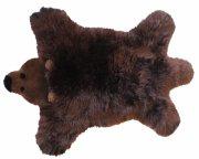 baby dan bjørn lammeskind - brun bjørn - 60x97 cm. - Til Boligen