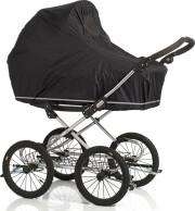 babydan regnslag med insektnet til barnevogn / klapvogn - Babyudstyr