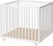 babydan kravlegård - 79x79 cm. - hvid - Babyudstyr
