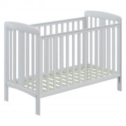 babydan tremmeseng - karla babyseng - 60 x 120 cm - hvid - Babyudstyr