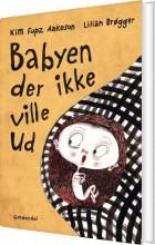 babyen der ikke ville ud - bog