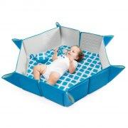 babytolove pili mat baby legetæppe - blå - prisvindende - Babylegetøj