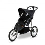 babytrold baby jogger / løbejogger - klapvogn - sort - Babyudstyr