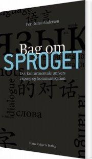bag om sproget - bog