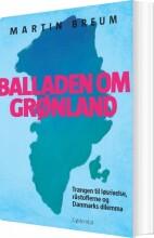 balladen om grønland - bog