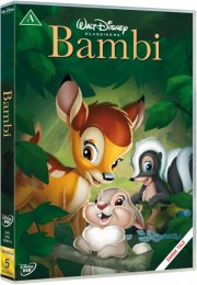 bambi - disney - DVD