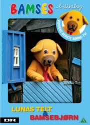 bamses billedbog 42 - lunas telt og bamsebjørn - DVD