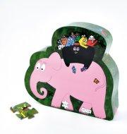 barbapapa puslespil til børn - safari - Brætspil