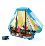 barbapapa puslespil til børn - barbapapas båd - Brætspil