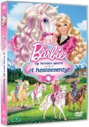 barbie og hendes søstre i et hesteeventyr - DVD