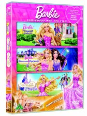 barbie prinsesse boks - DVD