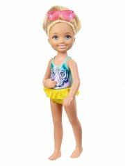 barbie - chelsea og venner - svømme sjov - Dukker