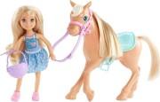 barbie chelsea dukke med pony - Dukker