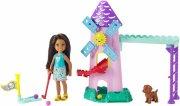 barbie - chelsea dukke og mini golf spil sæt - Dukker