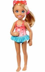 barbie - chelsea and friends dukke - svømmepige - Dukker