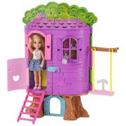 barbie dukkehus - chelseas træhytte - Dukker