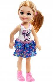 barbie - club chelsea - katte top dukke - Dukker