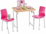 barbie - spisesæt & kattekilling - Dukker