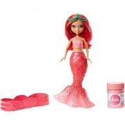 barbie havfruedukke - pink - Dukker