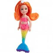barbie havfrue dukke - regnbue - Dukker