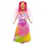 barbie dukke - dreamtopia - rainbow cove prinsesse med lys show - Dukker