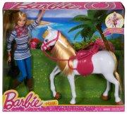 barbie - dansende hest med barbie - Dukker
