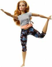 barbie dukke - made to move - orange trøje - Dukker