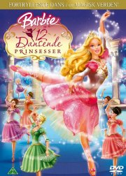barbie og de 12 dansende prinsesser / barbie and the 12 dancing princesses - DVD