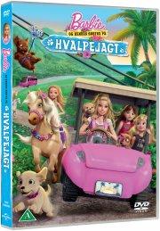 barbie og hendes søstre på hvalpejagt - DVD
