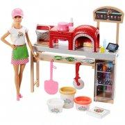 barbie pizza chef dukke og legesæt - Dukker