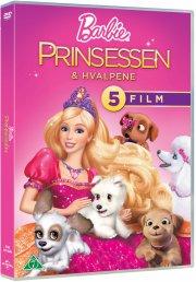 barbie - prinsessen og hvalpene - DVD