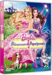 barbie: prinsessen og popstjernen - DVD