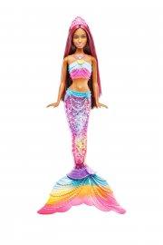 barbie havfrue dukke med regnbue lys - Dukker