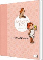 barnets bog - lyserød  - Christel