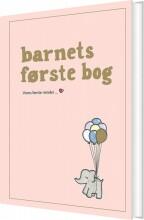 barnets første bog - rosa - bog