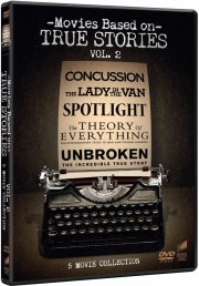 spotlight // the theory of everything // unbroken // concussion // lady in the van - DVD