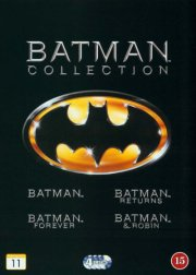batman // batman rerurns // batman forever // batman and robin - DVD