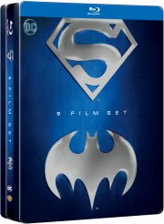 batman & superman anthology - boks med 9 film - Blu-Ray