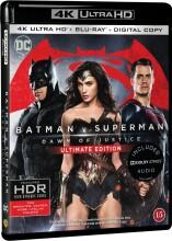 batman vs superman: dawn of justice - 4k Ultra HD Blu-Ray