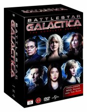 battlestar galactica box - den komplette serie - DVD