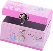 prinsesse smykkeskrin med lås - pink beauty jewelrybox - Kreativitet