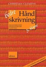 bedre håndskrivning 3.kl. grundskrift med løkker i - bog