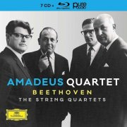 amadeus quartet - beethoven: the string quartets - limited edition  - Cd + blu-ray